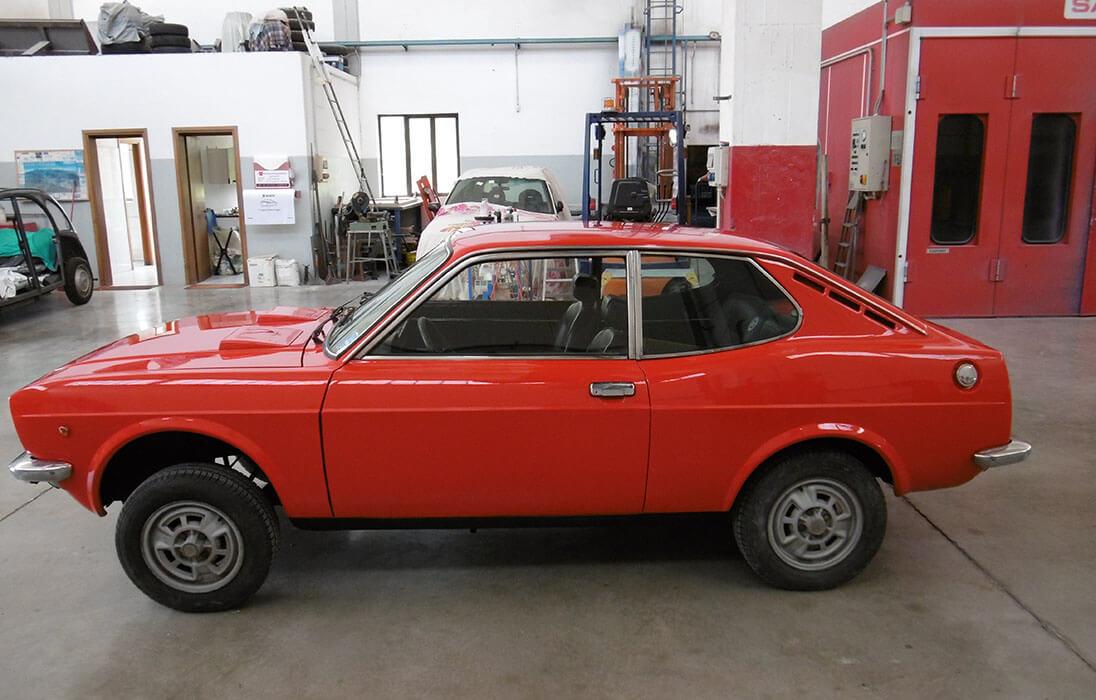 Restauro auto storiche Schio Vicenza